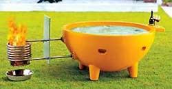 Alfi Wood Fired Hot Tub