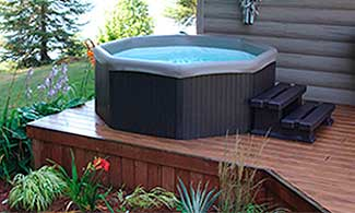 Canadian Spa Company Muskova Portable Hot Tub