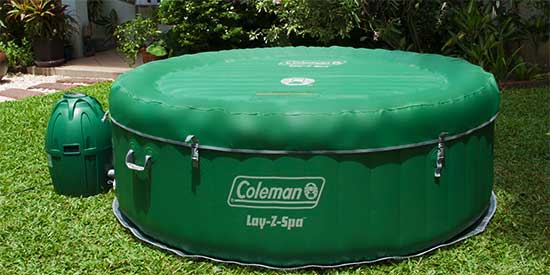 Coleman Inflatable Hot Tub Reviews