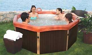 M Spa Tuscany Hot Tub