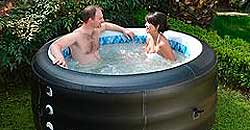 Radiant Inflatable Hot Tub