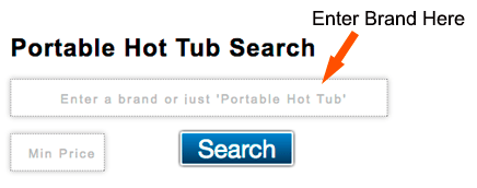 Portable Hot Tub Search