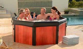 4 Person Hot Tub